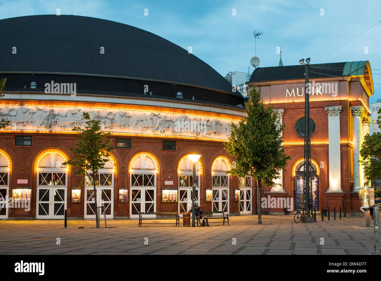 Musik Auditorium, Copenhagen Stockbild