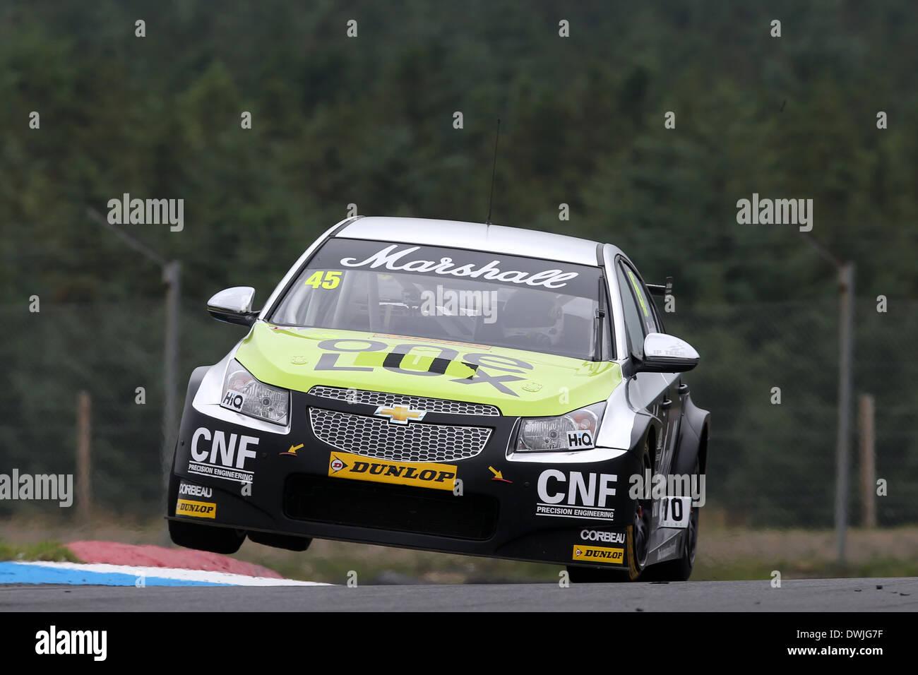 Mike Bushell (GBR) IP-Tech Race Engineering-Chevrolet Cruze Stockbild