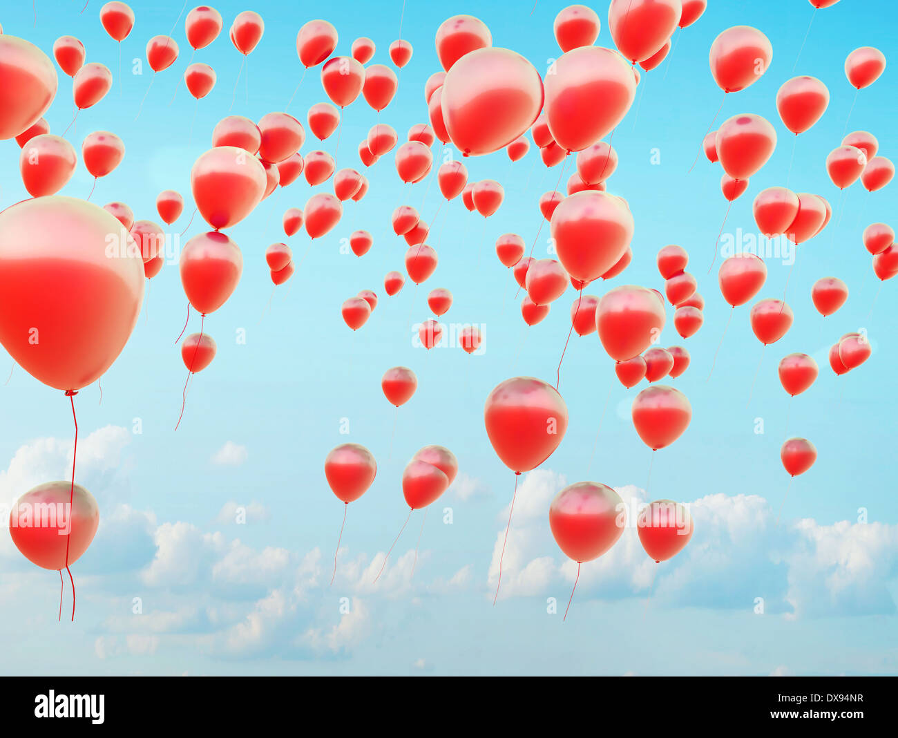 Colorful balloon stockfotos colorful balloon bilder alamy for Kleine fliegen blumen