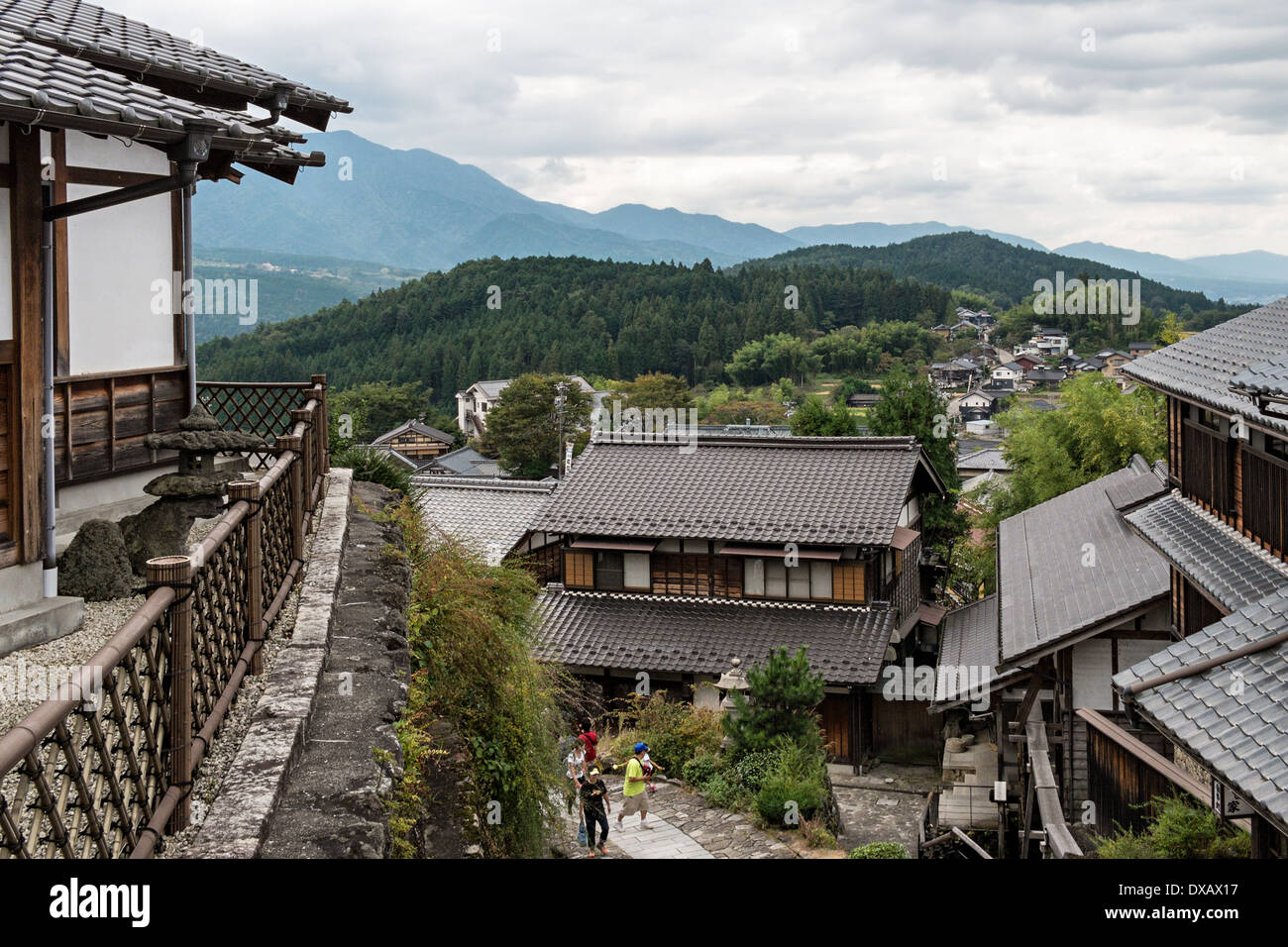 magome japan stockfotos magome japan bilder alamy. Black Bedroom Furniture Sets. Home Design Ideas