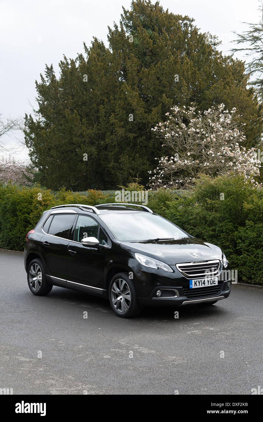 2014 Peugeot 2008 HDi Feline Stockbild