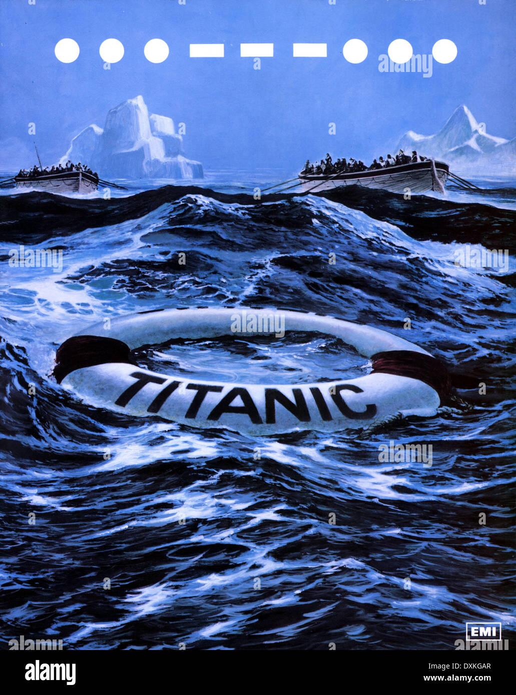 S.O.S. TITANIC Stockbild