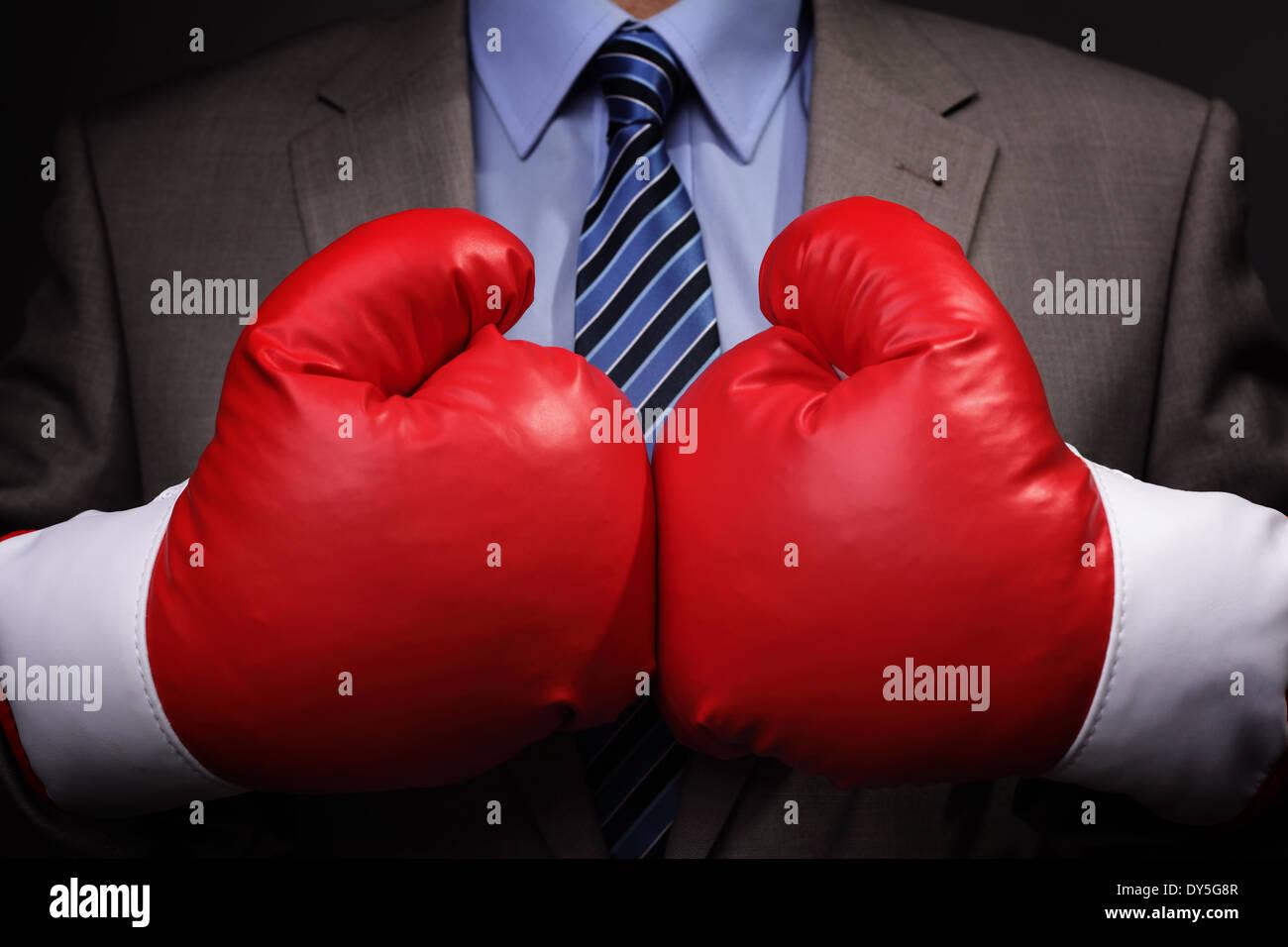Hart umkämpften Geschäft Stockbild