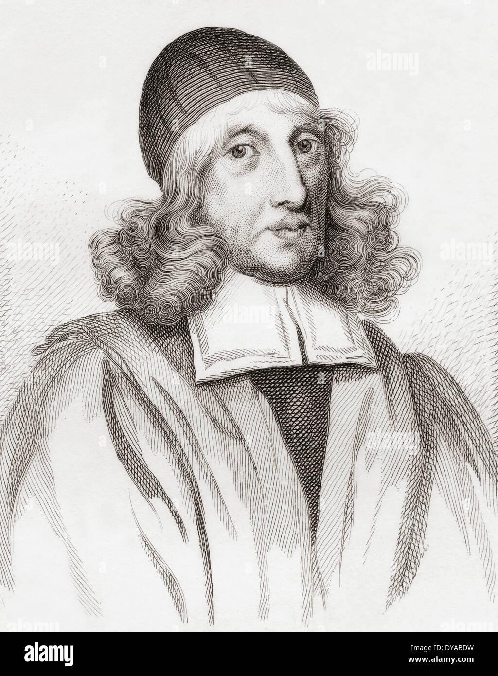Patrick Scougal, 1607 ? 1682. 17. Jahrhundert schottischer Geistlicher, Bischof von Aberdeen. Stockbild
