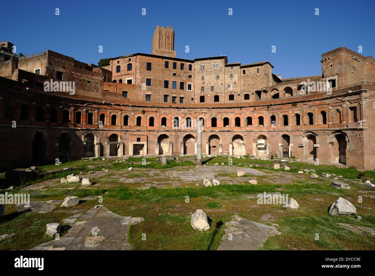 Italien, Rom, Trajan Märkte Stockbild