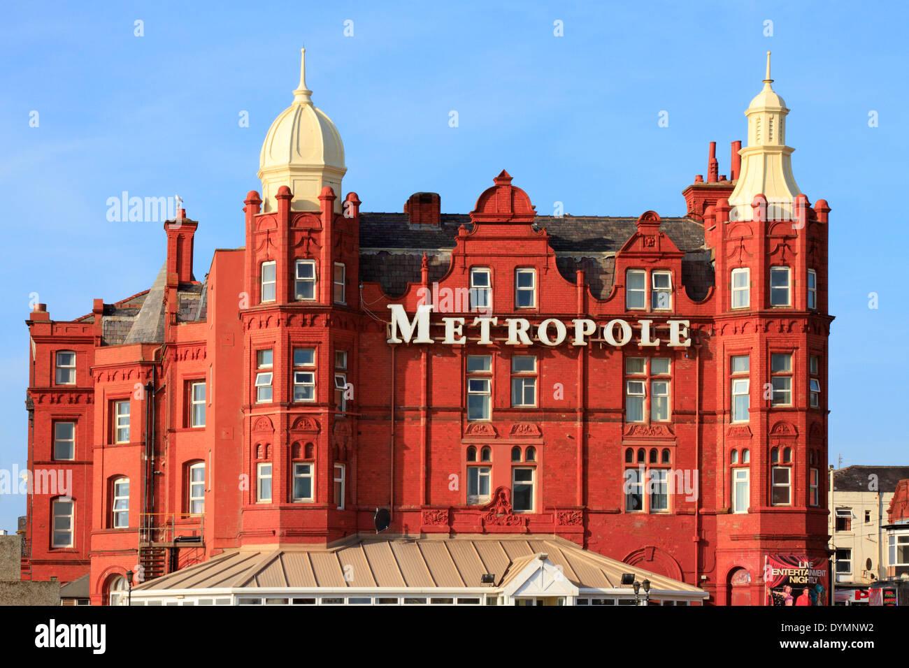 Grand Hotel Metropole, Blackpool, Lancashire, England, UK. Stockbild