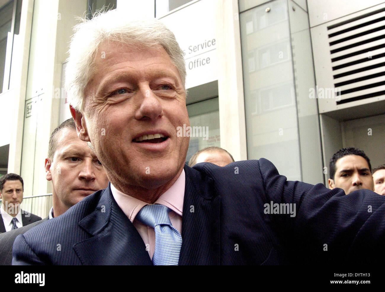 William Jefferson Clinton Stockbild