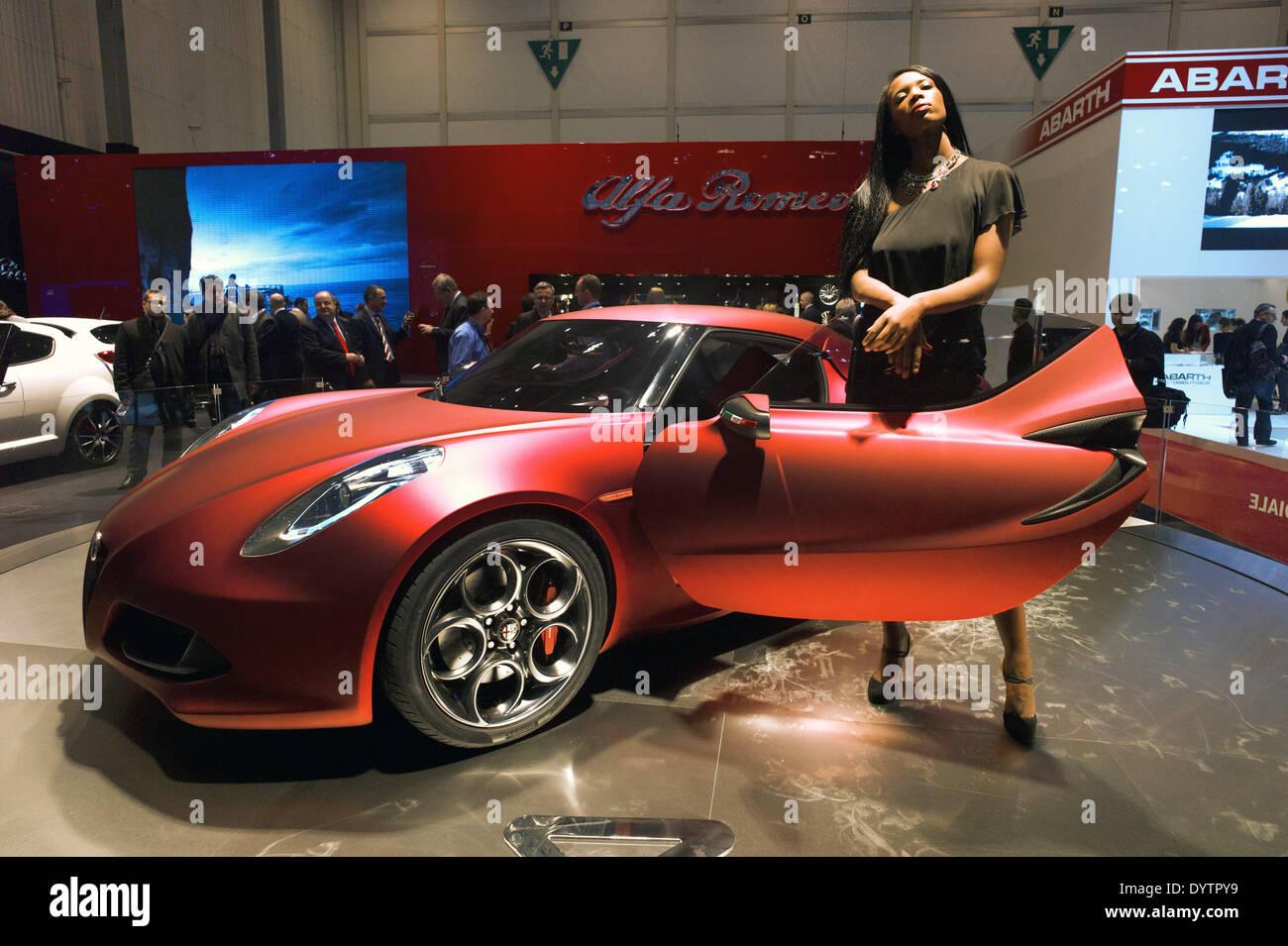 Alfa Romeo C4 Stockbild