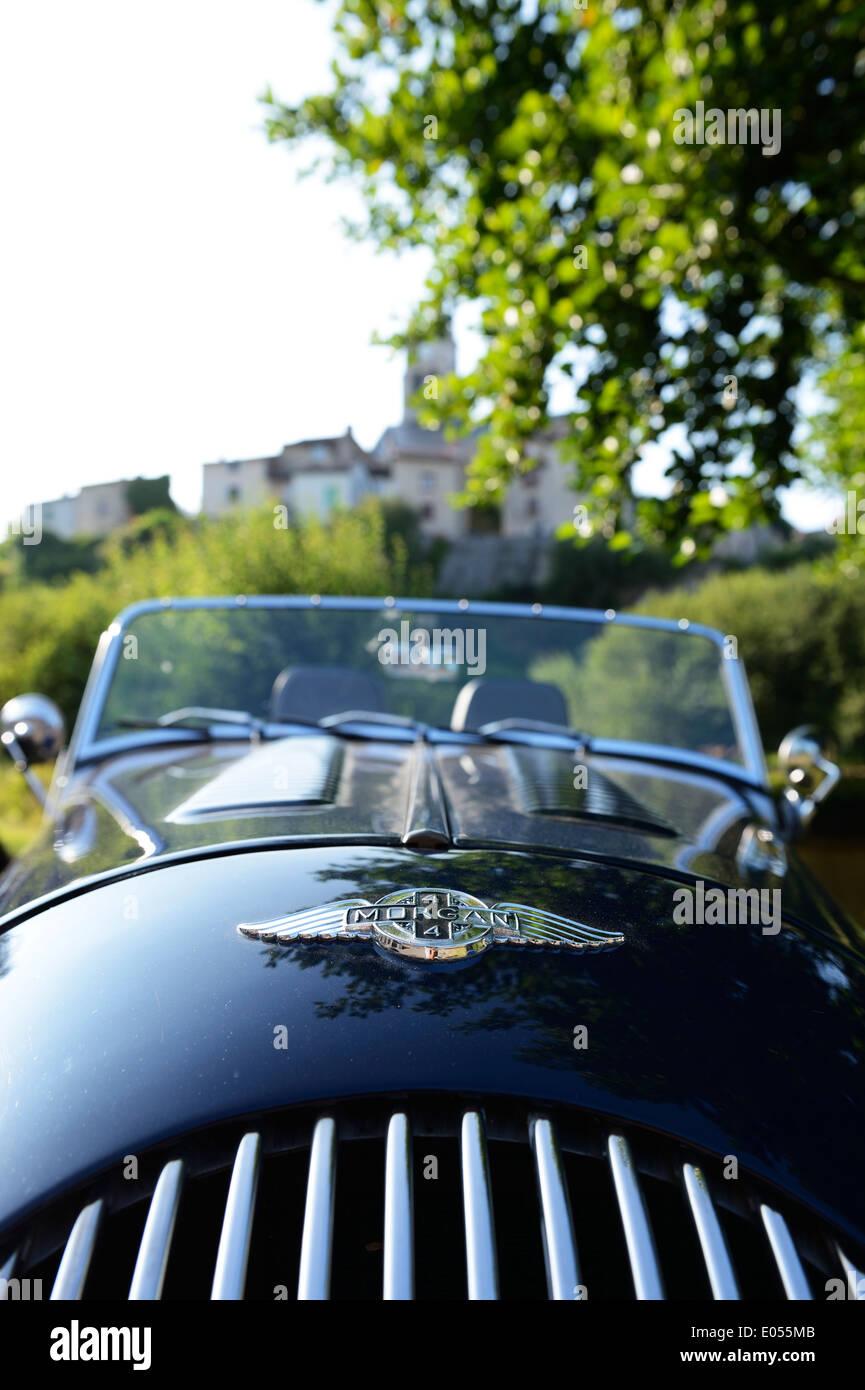 Stock Foto von Morgan Sportwagen Stockbild