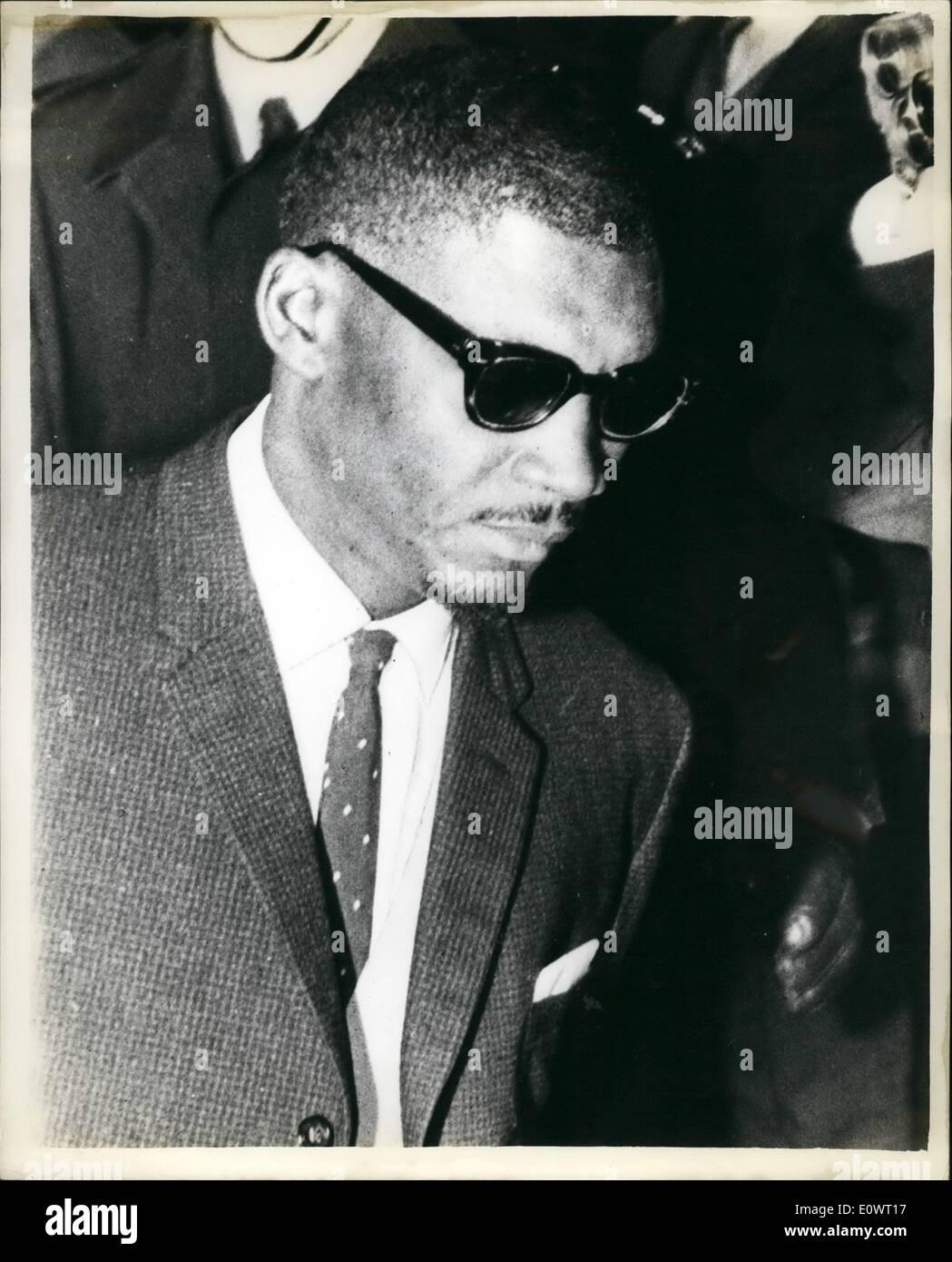 12. Dezember 1963 - Keeler Fall in The Old Bailey Rudolf Fenton: der Prozess begann heute Morgen um die Olda Bailey Stockbild