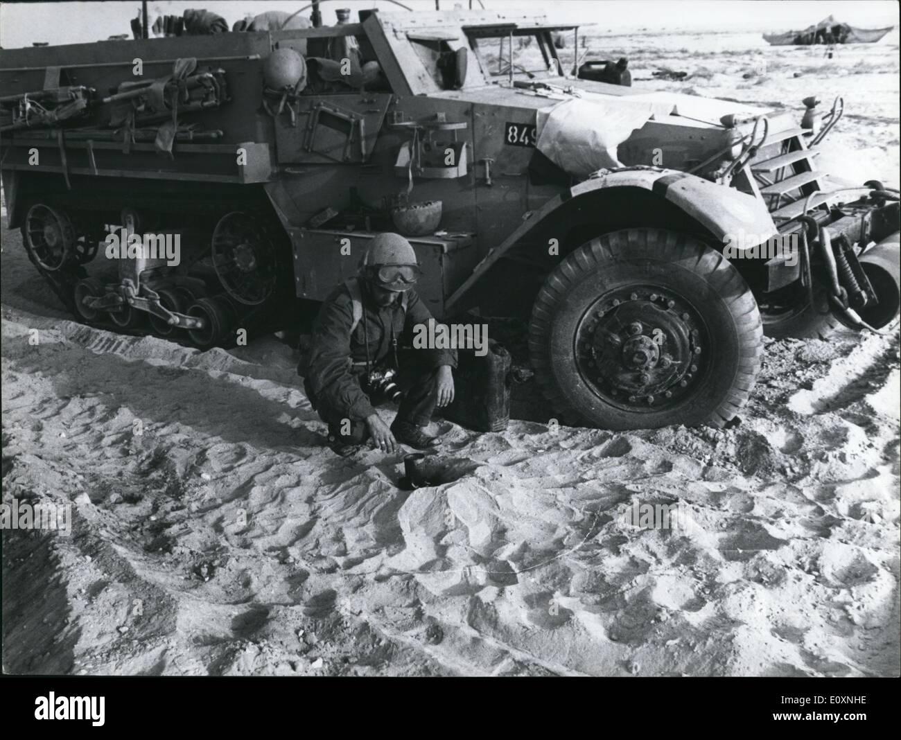 8. Juni 1967 - bewaffnete sechs-Tage-Krieg, Konflikte im Juni 1967 zwischen Israel und den arabischen Staaten Ägypten, Stockbild