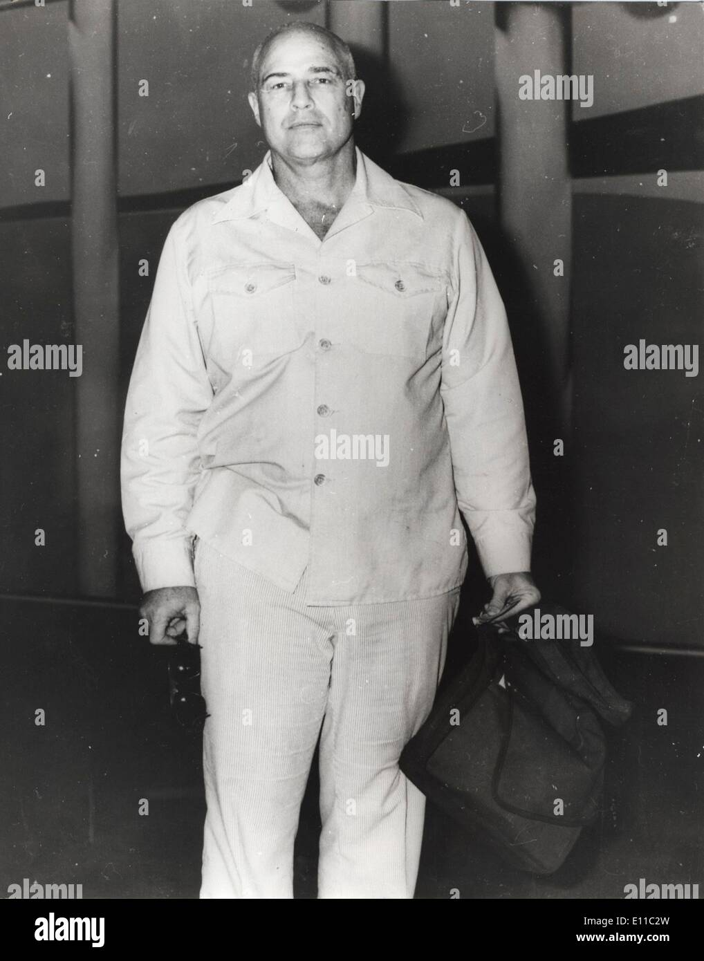 23. Dezember 1976 ist - Sydney, Australien - legendäre Schauspieler MARLON BRANDO im Alter von 80 Jahren von Stockbild