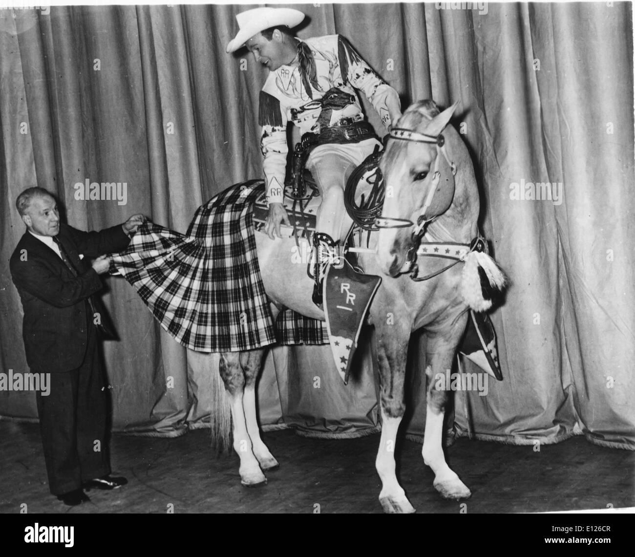 2. Januar 2007; Los Angeles, Kalifornien, USA; LEONARD FRANKLIN SLYE aka ROY ROGERS (5. November 1911 Ð 6. Stockbild