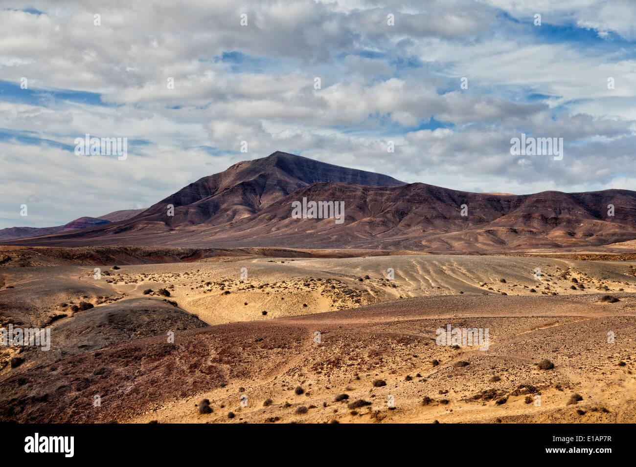 Los Ajaches nationalen Park.Lanzarote Insel. Kanarischen Inseln. Spanien. Stockbild