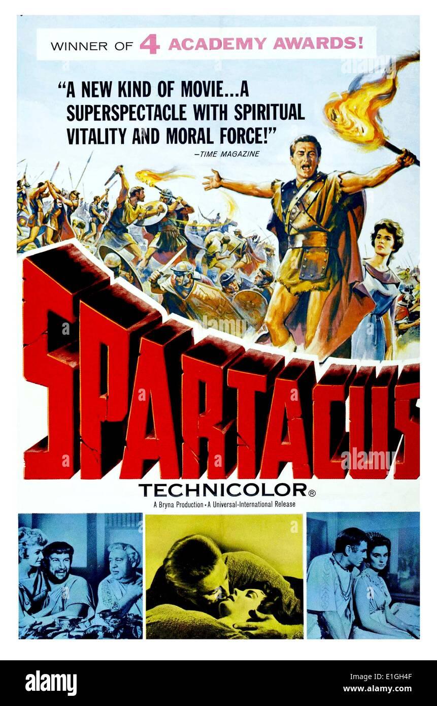 """""""Spartakus"""" bester Film für 1960 starring Gary Cooper. Stockbild"""