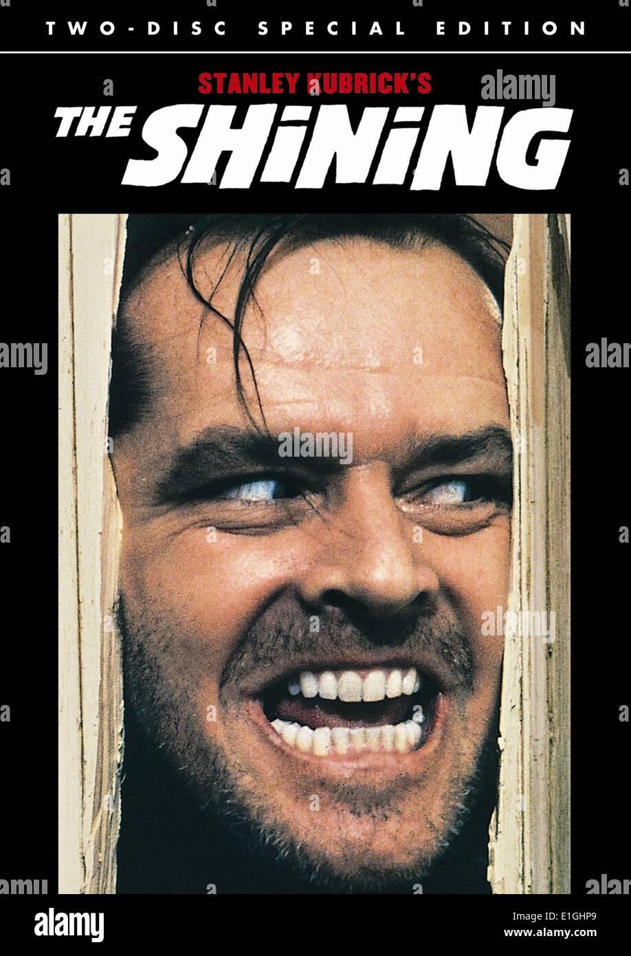 The Shining. Ein 1980 britisch-amerikanische psychologische Horror-film Stockbild