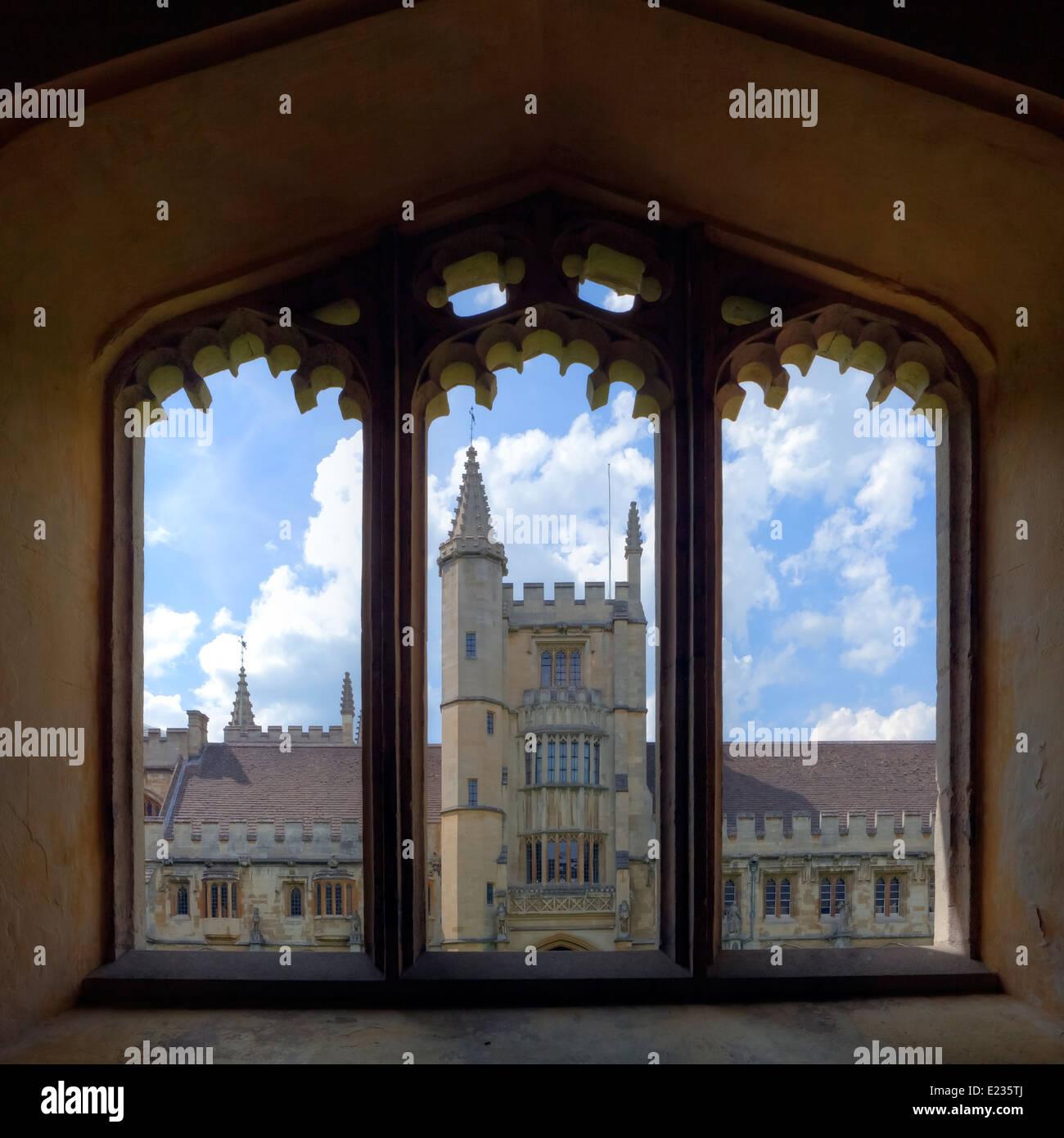 Magdalen College, Oxford, Oxfordshire, England, Vereinigtes Königreich Stockbild