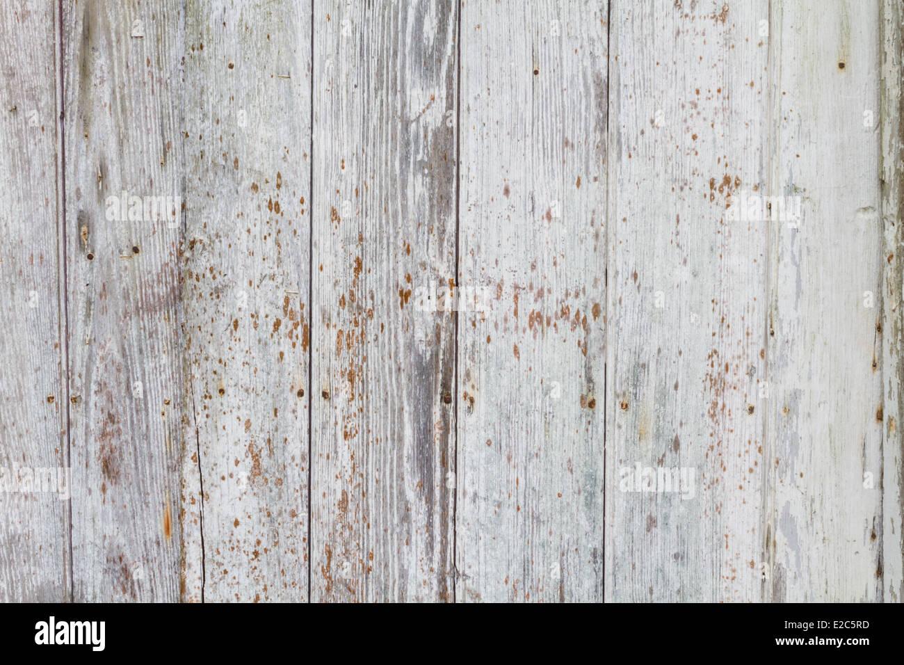 Im Alter von Platten aus einer alten Lagerhalle. Stockbild