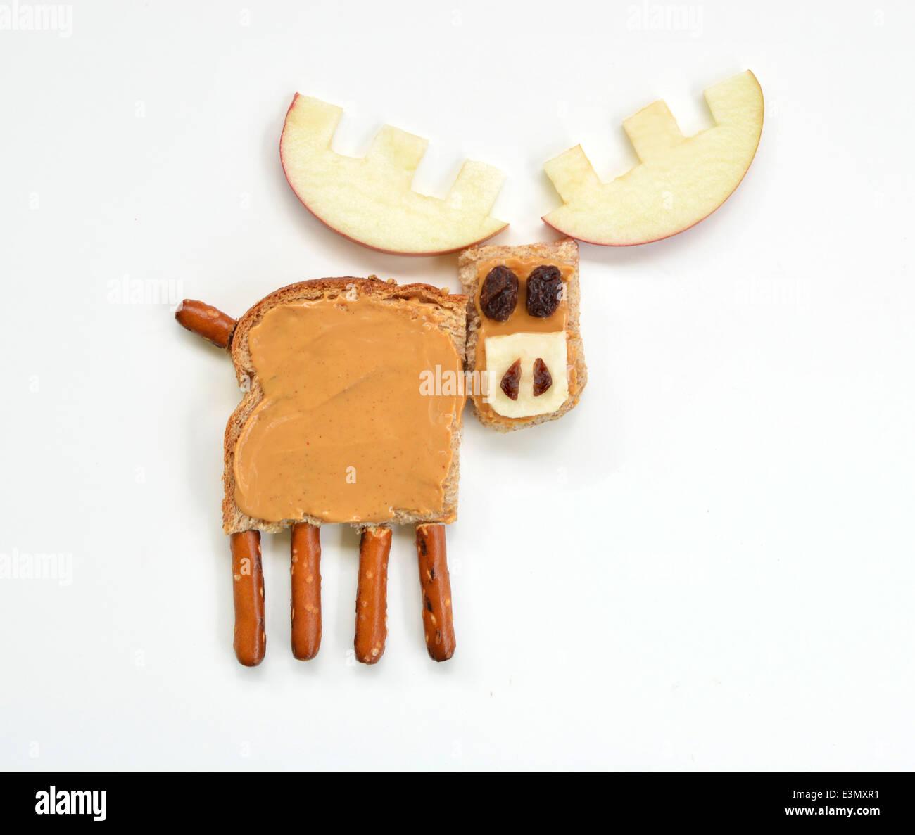 Elche Essen Kunst Stockbild