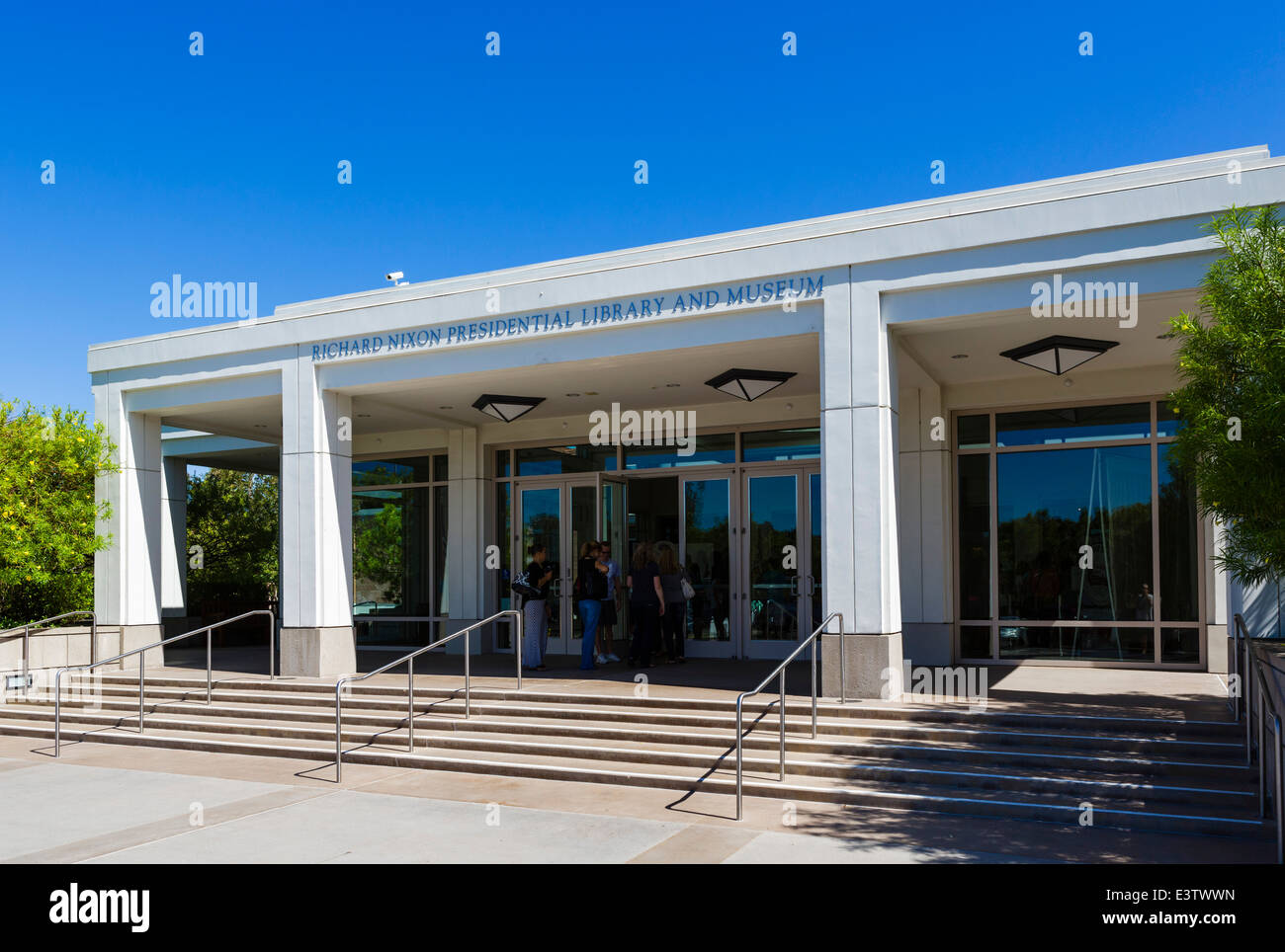 Die Richard Nixon Presidential Library and Museum, Yorba Linda, Orange County, in der Nähe von Los Angeles, Stockbild