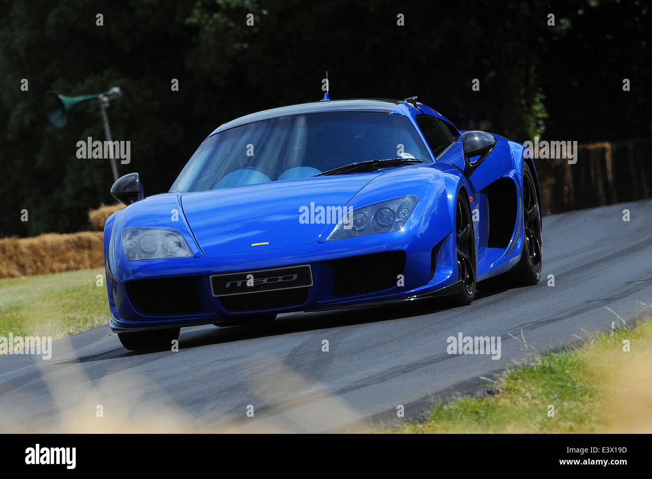Die Noble M600, angetrieben von Anthony Reid beim Goodwood Festival of Speed. Stockbild