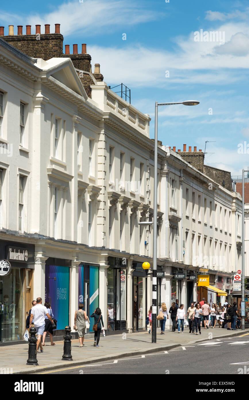 Der Königsweg, Chelsea, London, England, Vereinigtes Königreich Stockbild