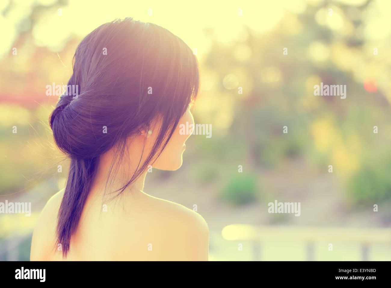 Asian Girl Portrait Stockfoto