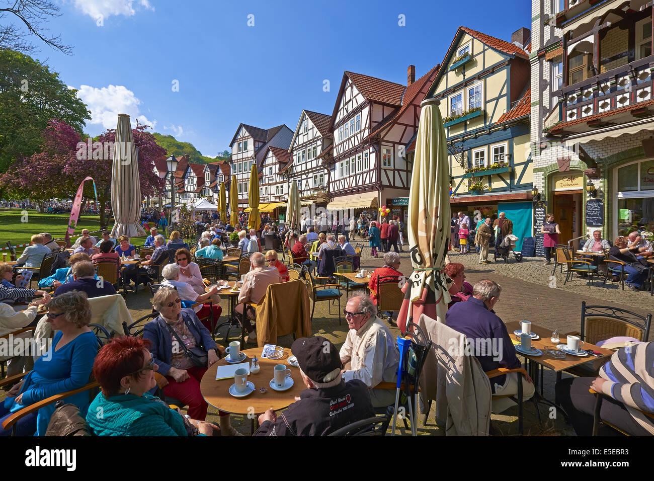 Bad Sooden, Bad Sooden-Allendorf, Hessen, Deutschland Stockfoto