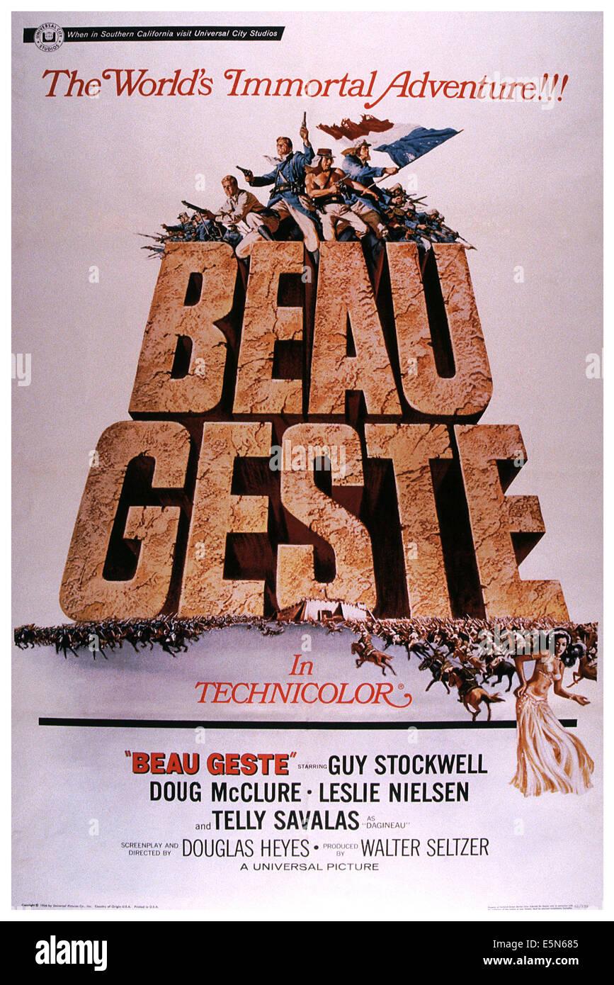 BEAU GESTE, 1966 Stockbild