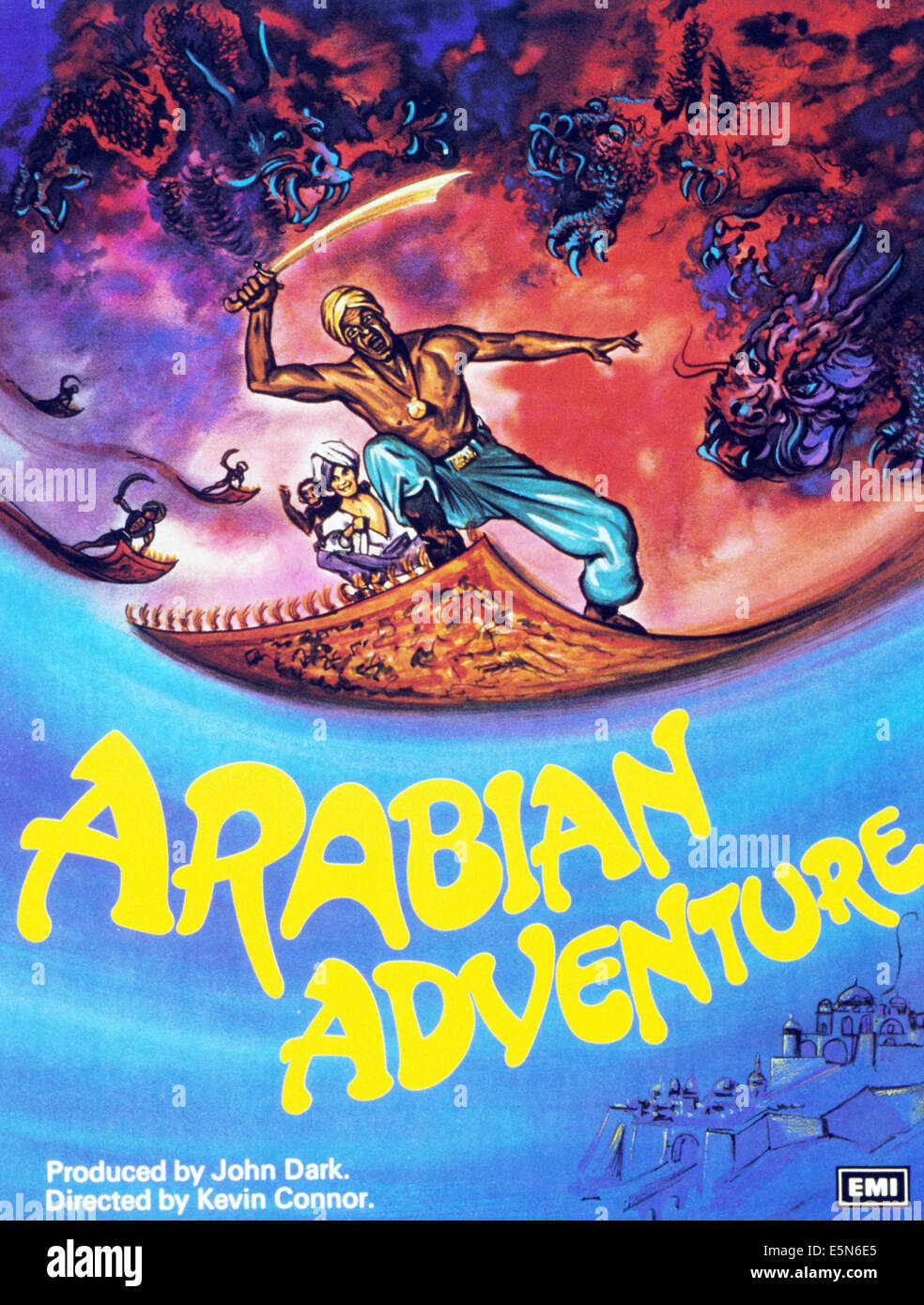 ARABIAN ADVENTURE, 1979, © EMI Filme/Courtesy Everett Collection Stockbild