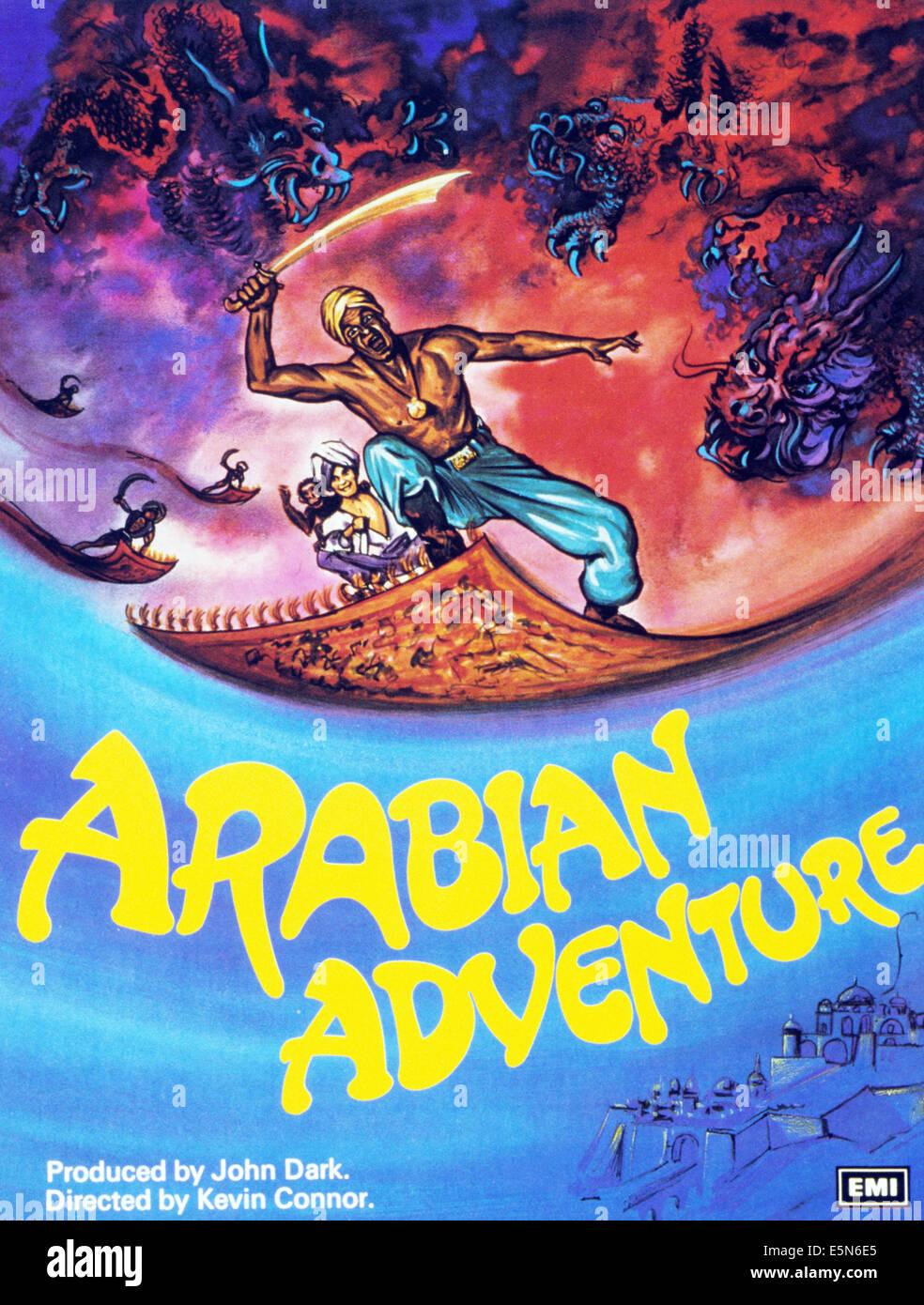 ARABIAN ADVENTURE, 1979, © EMI Filme/Courtesy Everett Collection Stockbild
