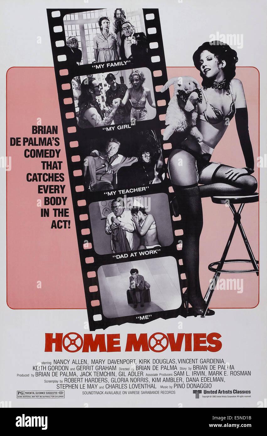 HOME MOVIES, Nancy Allen (rechts), 1980, © United Artists/Courtesy Everett Collection Stockbild