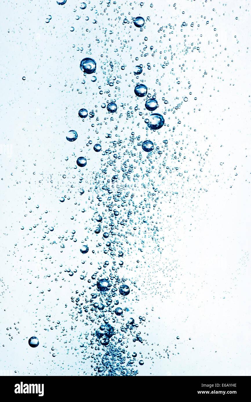 Wasser, sprudeln, Bubbles, Wasser sprudelt, h2o Stockbild