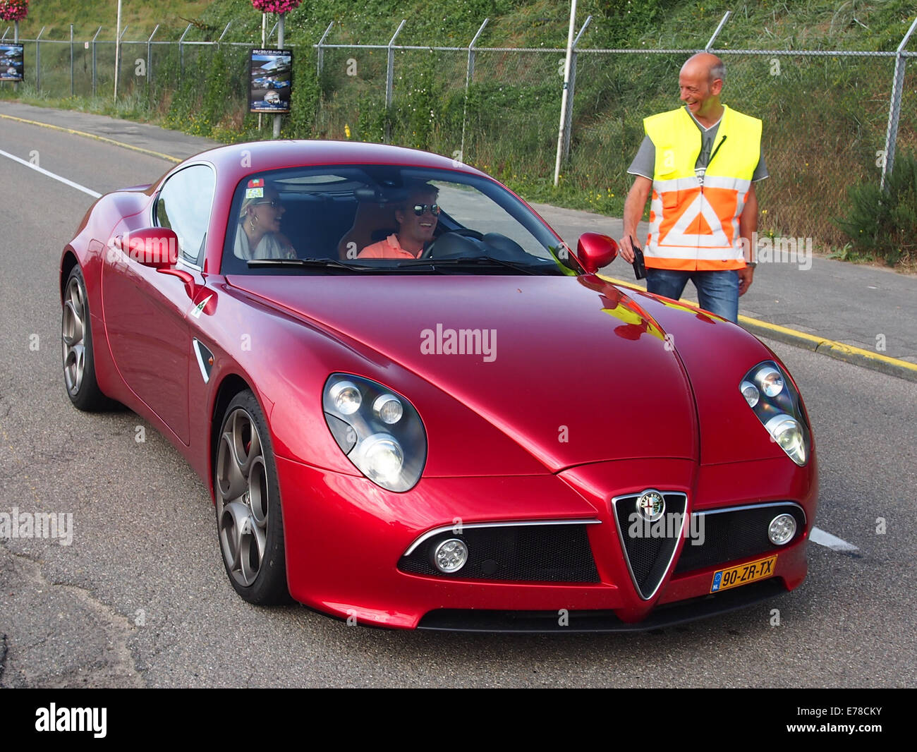 2008 ALFA ROMEO AR8C COMPETIZIONE, Lizenz 90-ZR-TX, pic1 Stockbild