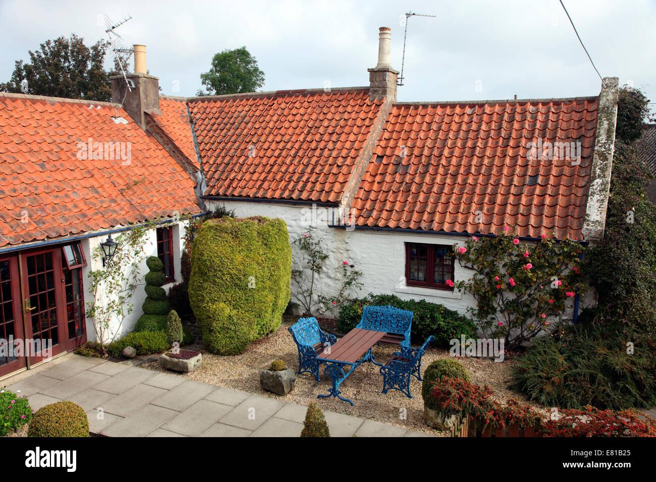 Champany Inn, ein gehobenes Restaurant mit Zimmern in Linlithgow. Stockbild