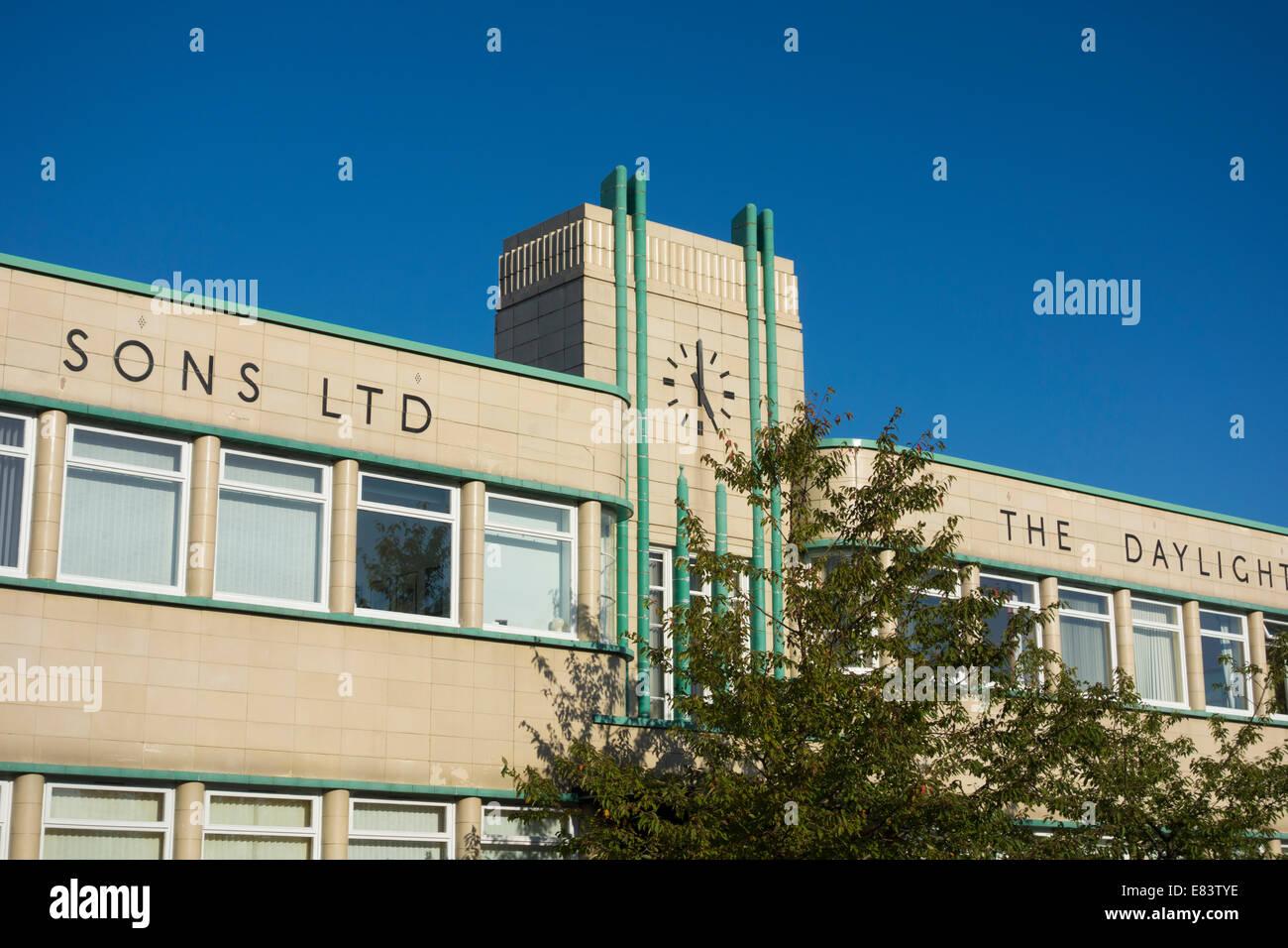 Ralph Funken Tageslicht Bäckerei Gebäude, Stockton on Tees, England, UK Stockbild