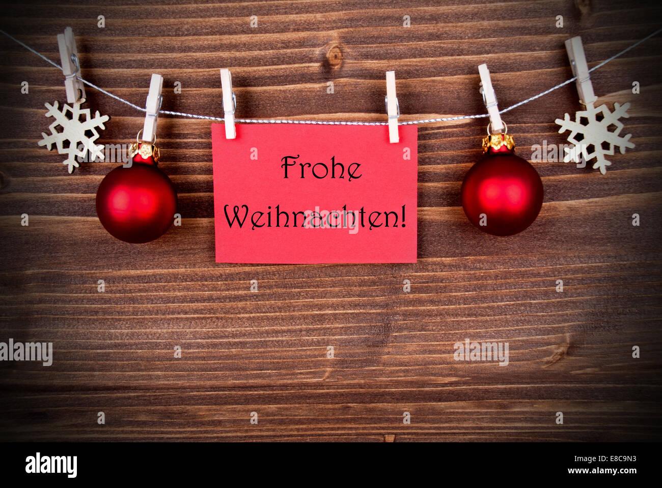 rote fahne mit der deutschen w rter frohe wohnaccesoires d. Black Bedroom Furniture Sets. Home Design Ideas