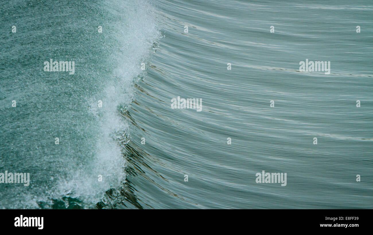Kamm der Welle Stockbild