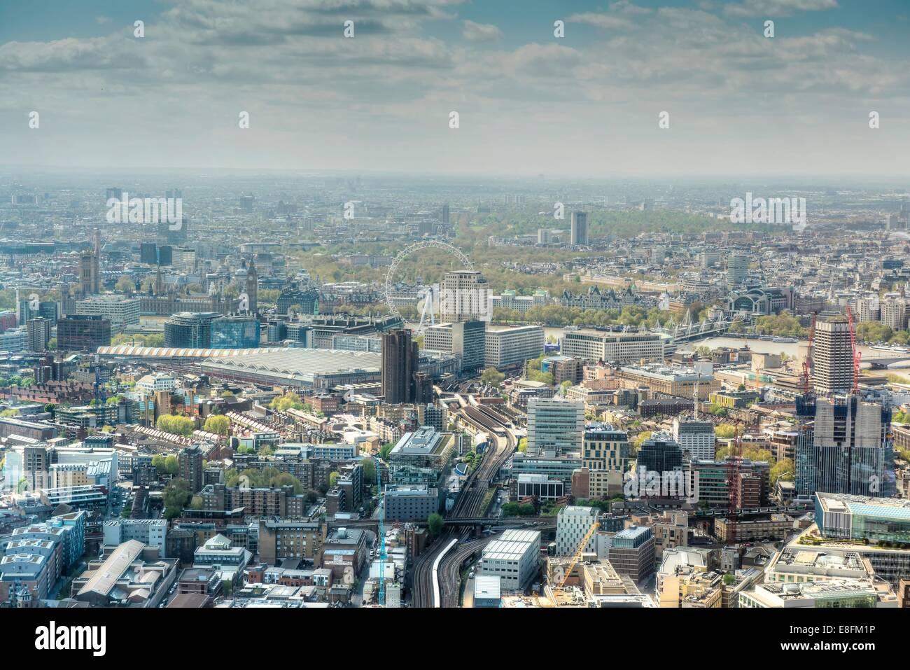 United Kingdom, England, London, Stadtbild Stockbild