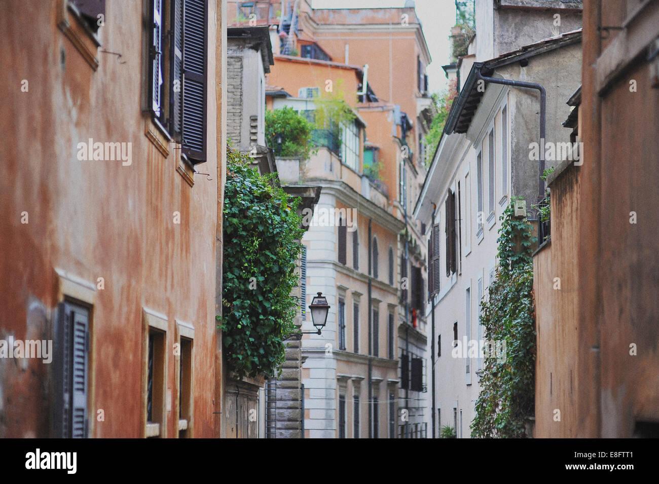 Italien, Rom, Gasse in der Stadt Stockbild