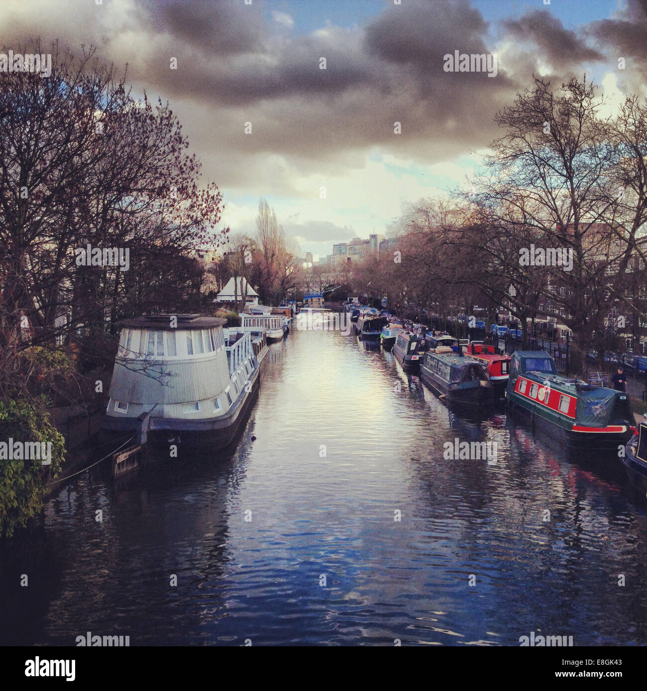 Little Venice, London wenig Venedig, London Stockbild