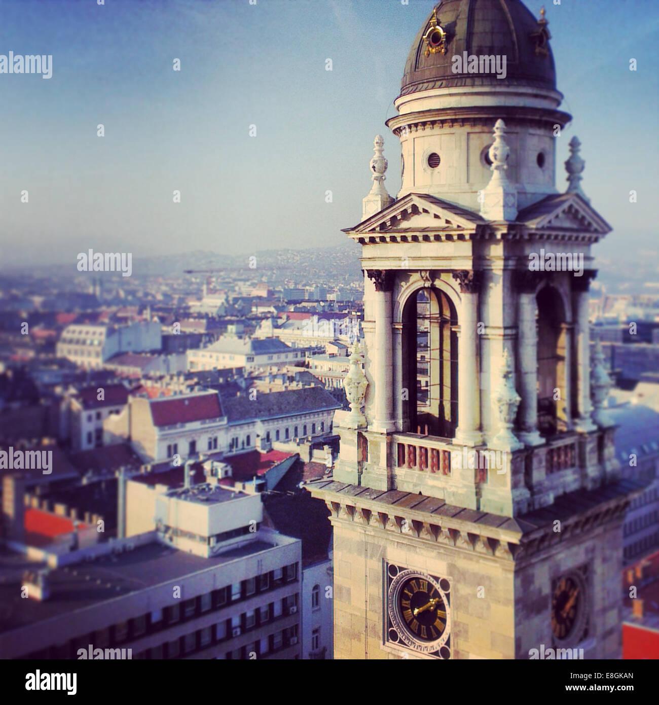 Budapest, Ungarn-Budapest In Ungarn Stockbild