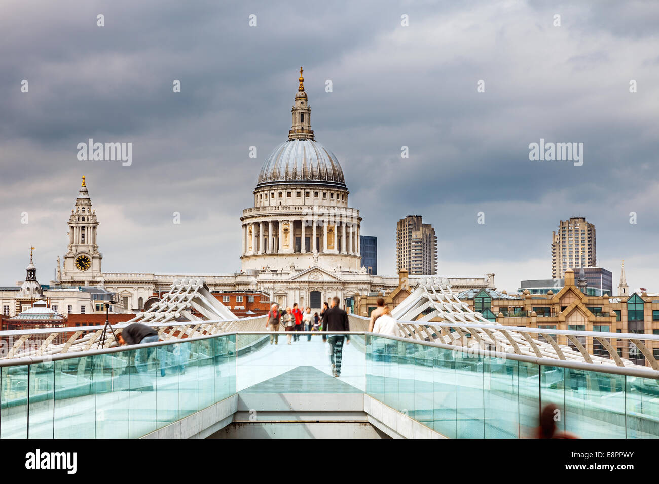 St. Pauls Cathedral Stockbild