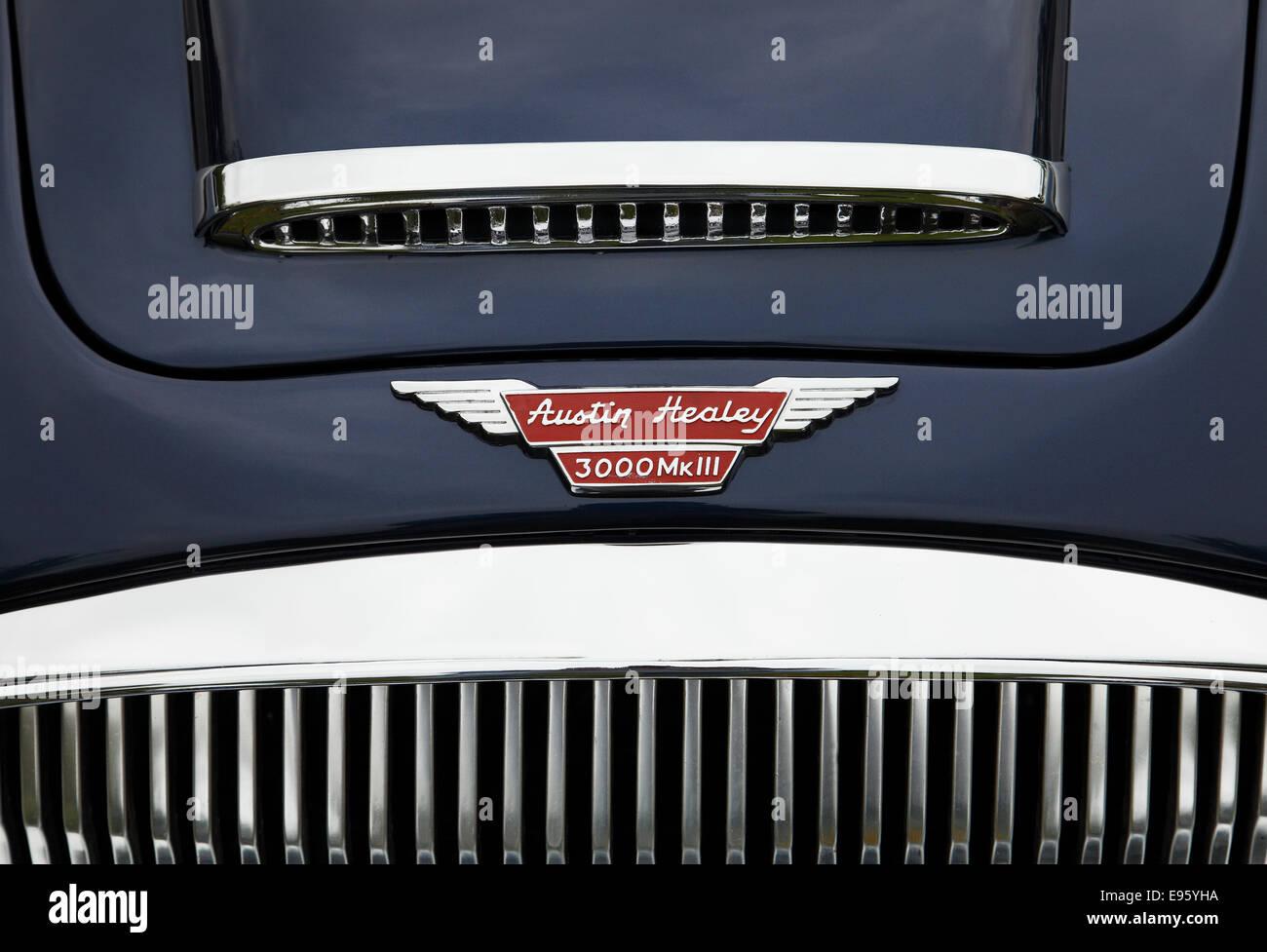 Oldtimer Austin-Healey 3000 MK3 Stockbild