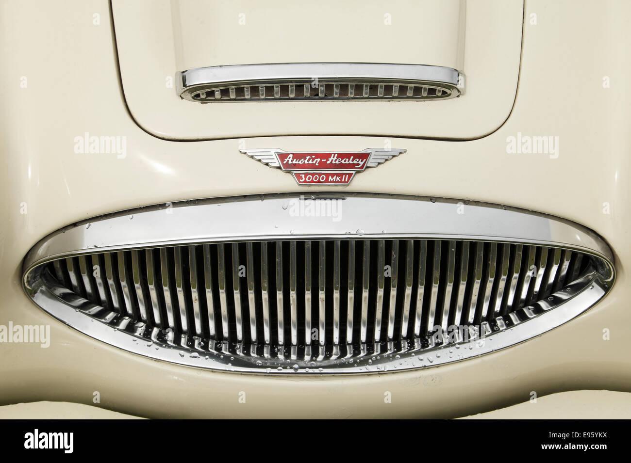 Oldtimer, Austin Healey 3000 MK2 Stockbild