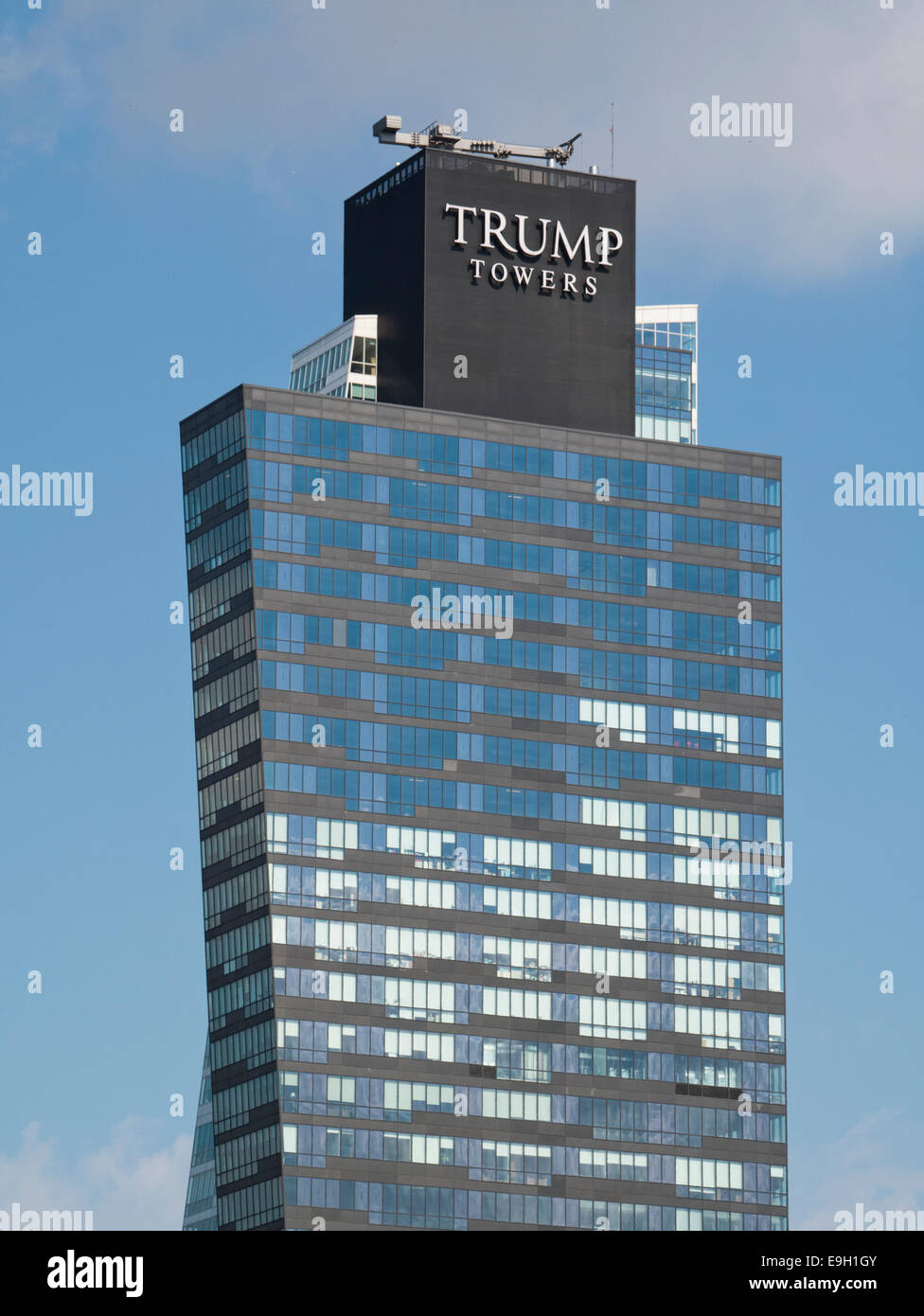 Trump Towers in Istanbul Stockbild