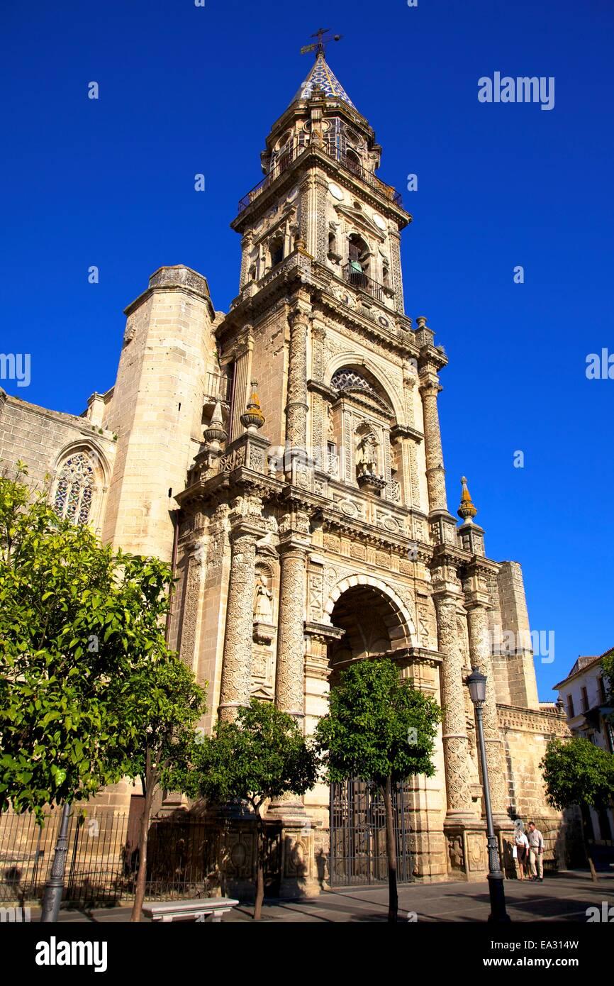 Kirche von San Miguel, Jerez De La Frontera, Provinz Cadiz, Andalusien, Spanien, Europa Stockbild
