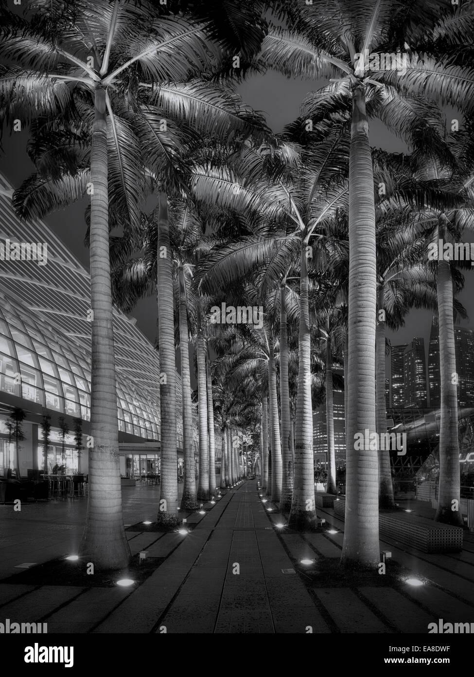 Marina Mall Stockbild