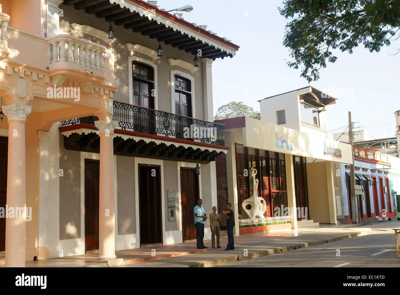 Bayamo, Kuba Stockbild