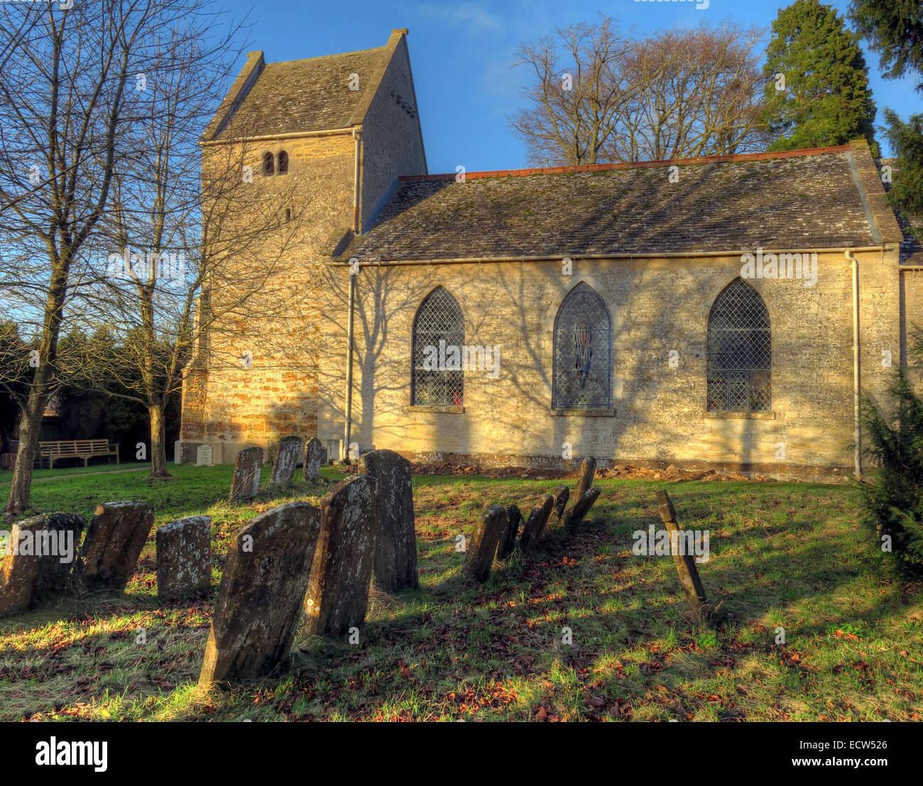 Laden Sie dieses Alamy Stockfoto St. Marys Kirche Ardley, Oxfordshire, England, Vereinigtes Königreich - ECW526